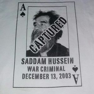2003 Saddam Hussein USA United States Trump
